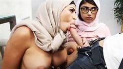 arabische milf und geile teen gefickt von lucky dude